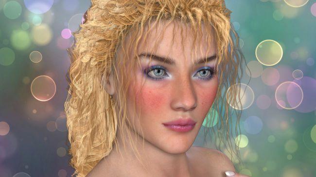 carolina-hair-v4-m4-and-la-femme-and-l'homme-–-poser