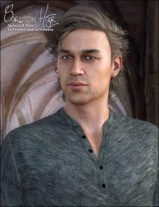 carlton-hair-for-gen-8-male,-la-homme-and-la-femme