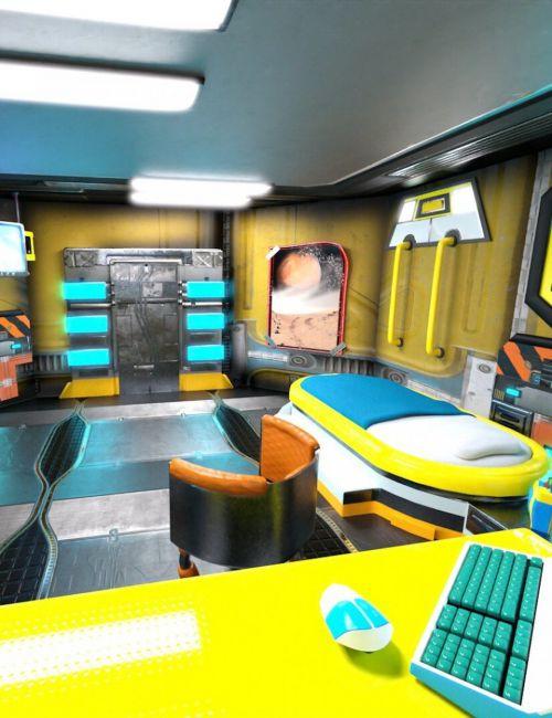 retrospace-personal-quarters-scene-kit