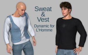 sweat-&-vest-for-l'homme